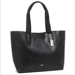 Soft Pebble Leather Coach Tote bag